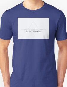 P-Value Unisex T-Shirt