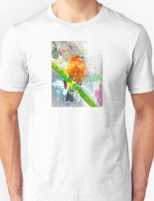 Vibrant Watercolor Bird [0.1] T-Shirt