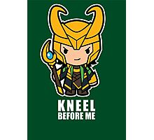 Kneel Before Me Photographic Print