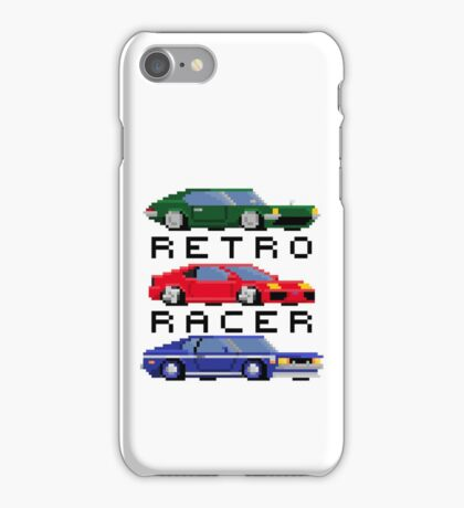 Retro Racer - Sports, Super, and Muscle iPhone Case/Skin
