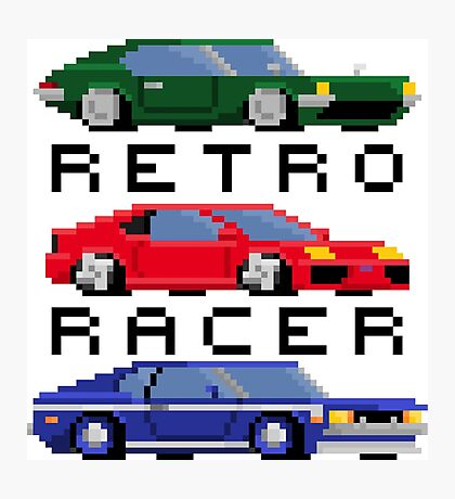Retro Racer - Sports, Super, and Muscle Photographic Print