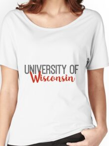 University of Wisconsin Women's Relaxed Fit T-Shirt