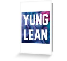Yung Lean Greeting Card