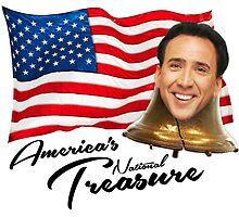 America's National Treasure - Black Text by glucern