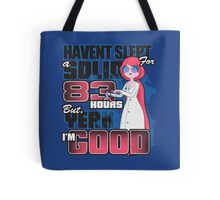 Sleepless in the Candy Kingdom Tote Bag