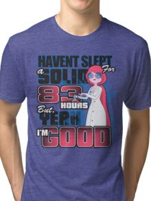 Sleepless in the Candy Kingdom Tri-blend T-Shirt