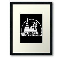 Burzum Land Framed Print