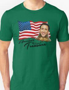 America's National Treasure - Black Text Unisex T-Shirt