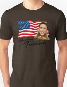 America's National Treasure - Black Text Unisex T-Shirt