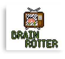 TV Brains! Canvas Print