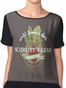 Schrute Farms - The office Chiffon Top