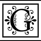 Letter G Monogram by imaginarystory
