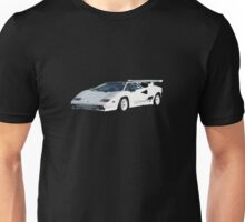 White Countach Unisex T-Shirt
