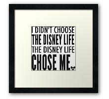 The Disney Life Framed Print