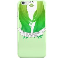 Get-Going-Green iPhone Case/Skin