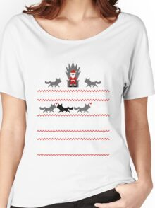 Christmas Is Coming Santa Edition  Women's Relaxed Fit T-Shirt