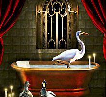 Imogene Never Could Remember to Draw the Drapes When Bathing... by Karen  Helgesen