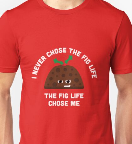 Christmas Character Building - Fig life Unisex T-Shirt