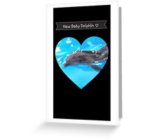 Cute Baby Dolphin Greeting Card