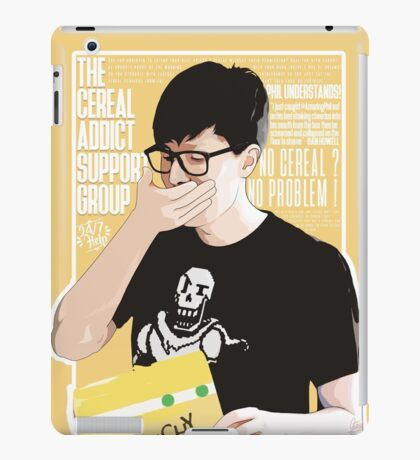 Cereal Support Group  iPad Case/Skin