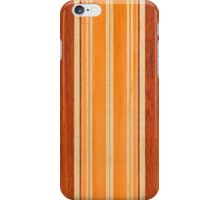 Nalu Lua Faux Hawaiian Koa Wood Surfboard - Amber iPhone Case/Skin