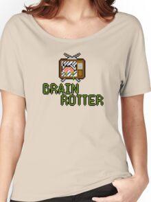 TV Brains! Women's Relaxed Fit T-Shirt