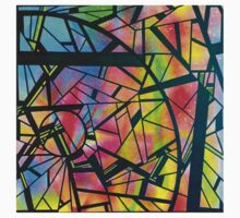 color abstraction two Kids Tee