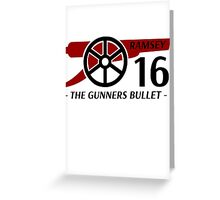 Ramsey Gunners Bullet Greeting Card