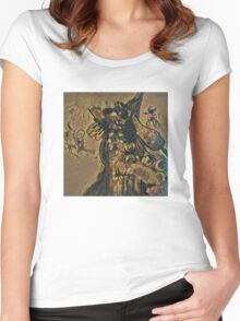 Insect Worship Women's Fitted Scoop T-Shirt