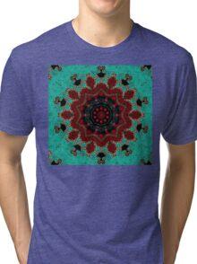 Santa Fe Spirit Mandala Tri-blend T-Shirt