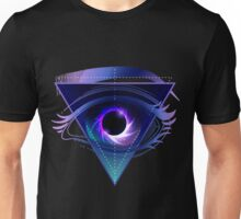 Black hole with starry vortex Unisex T-Shirt