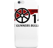 Henry Gunners Bullet iPhone Case/Skin