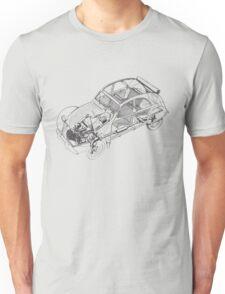 citroen 2cv | Cars Unisex T-Shirt