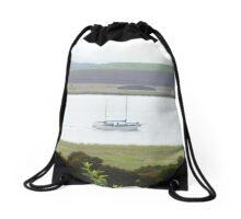 Yatch # Tamar River Drawstring Bag