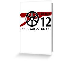 Giroud Gunners Bullet Greeting Card