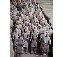 The Terracotta Warriors, Xian China. Photographic Print