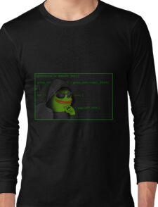 Hacker Pepe Long Sleeve T-Shirt