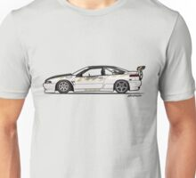 Chris Van Den Elzen's Subaru SVX Drift Car Unisex T-Shirt