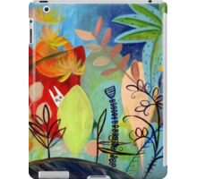 magic garden iPad Case/Skin