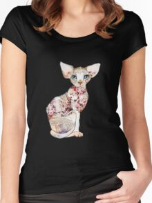 Sphynx Women's Fitted Scoop T-Shirt