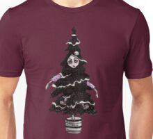 Black Xmas Tree Unisex T-Shirt