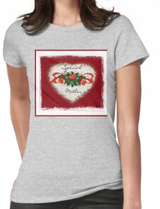 Special Mother Heart Womens Fitted T-Shirt