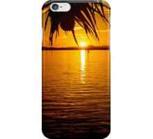 And so the sun sets! iPhone Case/Skin
