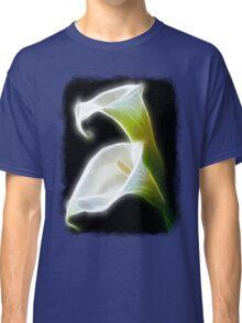 Elegant Calla Lily Flowers 8 Modern Classic T-Shirt