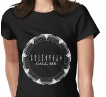 Stargate Tv Series - Funny Womens Fitted T-Shirt