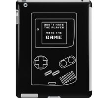 HATE THE GAME iPad Case/Skin