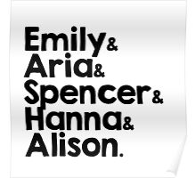 all the little liars Poster