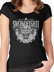 Space Western Women's Fitted Scoop T-Shirt