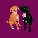Margo and Molly  by VieiraGirl