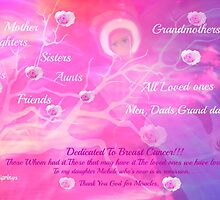 Angel For Breast Cancer- dedicated to Breast Cancer Month by Sherri     Nicholas